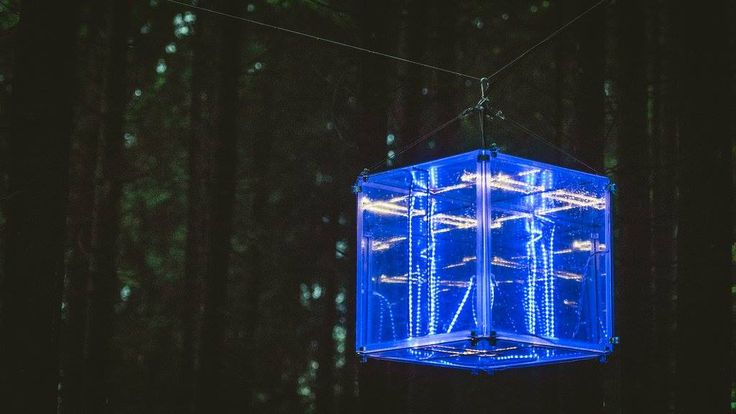 Infinity Cube @ Supynės festival 2017 by Glow Factory. Pic by Lukas Šalna.