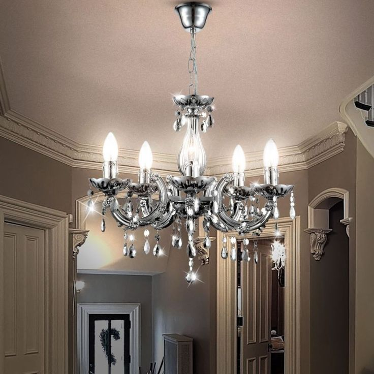 Las 25 mejores ideas sobre lamparas de ara a en pinterest - Lampara de arana de cristal ...