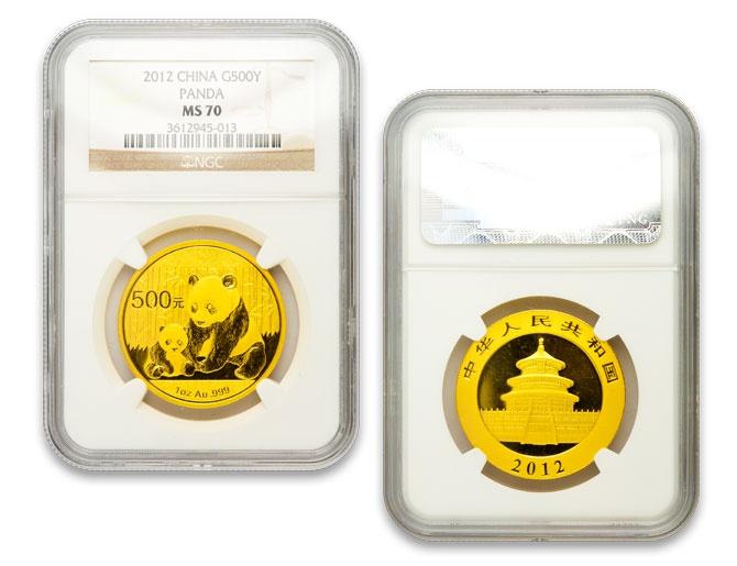 MS70 NGC Chinese Gold Panda.  Beautiful coin!
