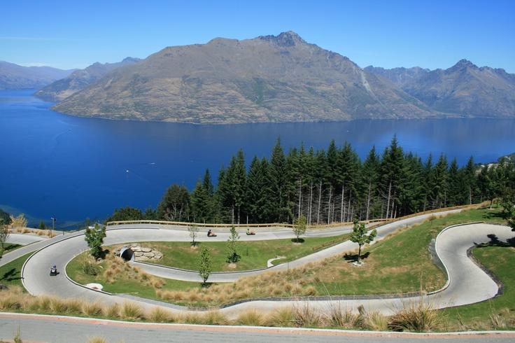 The Luge, Queenstown, New Zealand