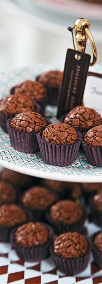 Brigadeiro Tradicional These are delicious! A brazil dessert!!!