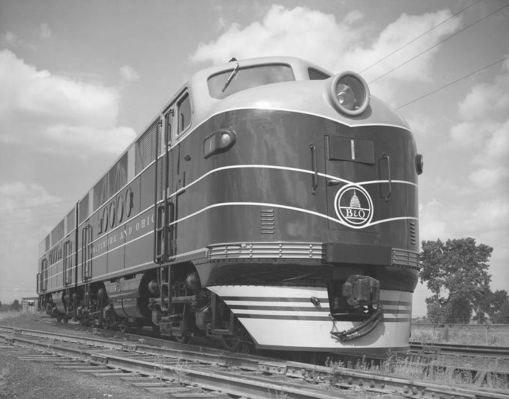 1861 best images about american passenger trains on for Electric motor repair baltimore