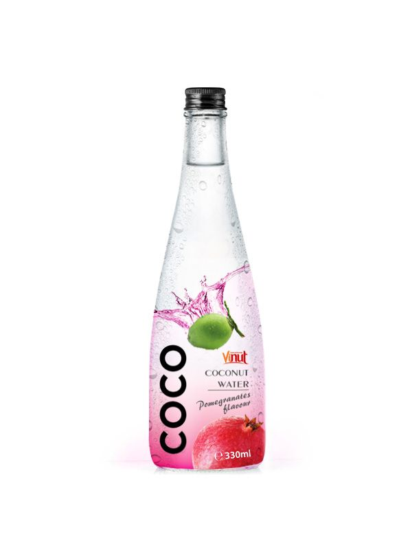 330ml_Wholesale_Pure_Coconut_water_with_Pomegranate_flavour