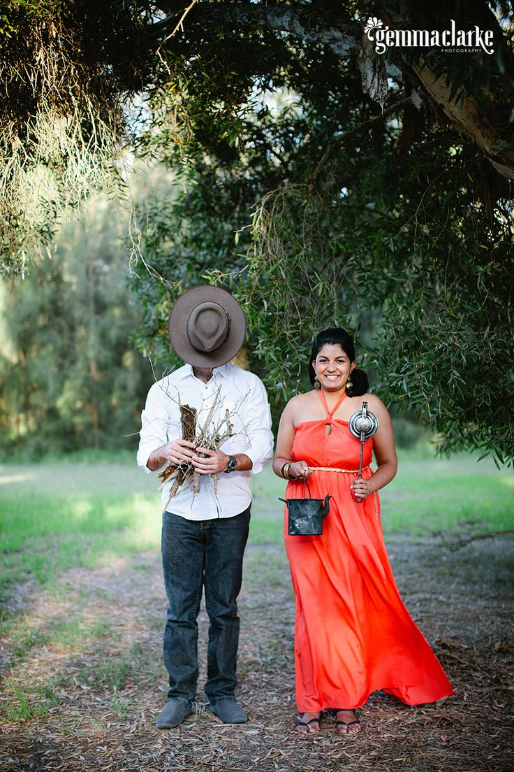 Ishara and Byron's New Year's Eve Portrait Session – Rustic