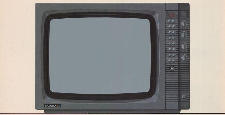 Jukka Vaajakallio: Luonnos televisiosta / A drawing of a television.