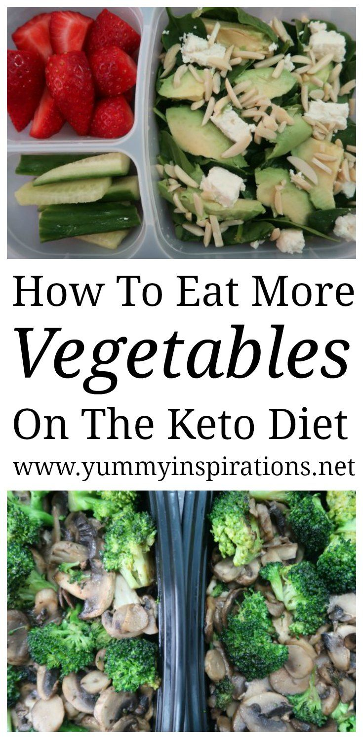 How To Eat More Vegetables On Keto - ideas to enjoy more vegetables while following a low carb diet like the Ketogenic Diet. Including a low carb keto vegetables list.