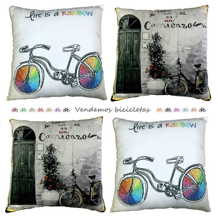 Vendemos las bicicletas más cómodas y las llenamos de mensaje para ti. http://elhogarideal.com/es/31-infantil