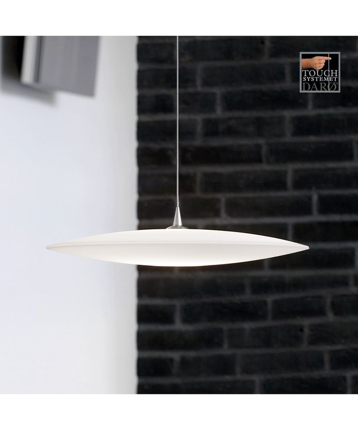 Galilei 42 touch taklampe mat hvit - DARØ