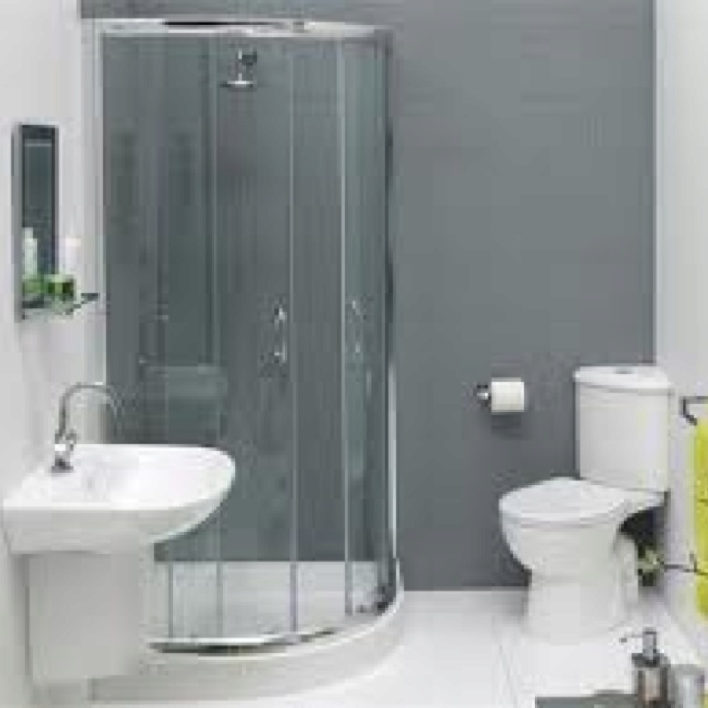 17 best images about ensuite ideas on pinterest toilets for Toilet and bath design small space