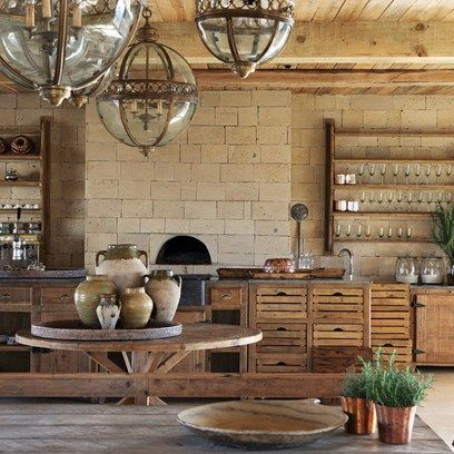 Get inspired by all our kitchen design ideas, including this communal kitchen in Kenya, part of eco retreat Segera