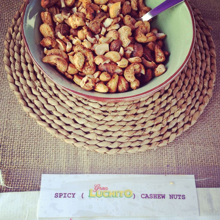 Gran Luchito nuts by Christabel  for more ideas check out http://gran.luchito.co.uk/ideas