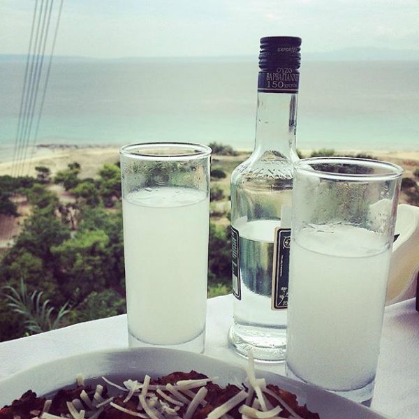 Taste the king of Greek spirits! #ouzo