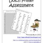 This kindergarten Dolch primer pack contains everything you need to assess your child's sight word knowledge on a daily basis. Free