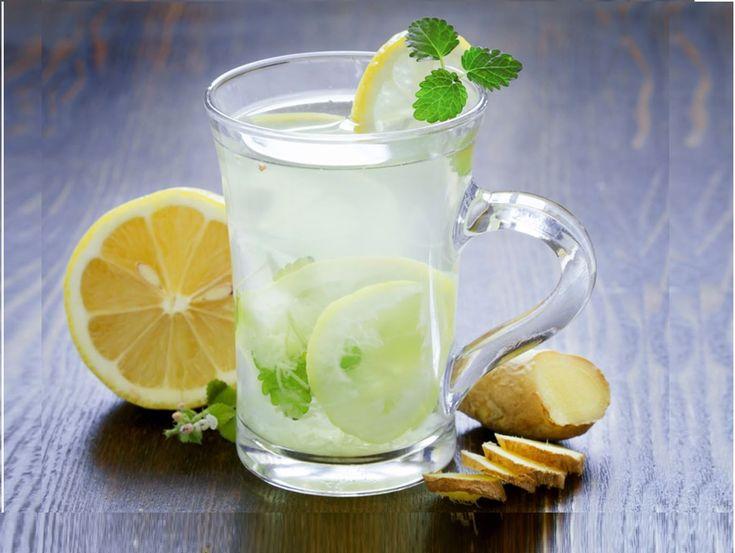 Tisana depurativa detox zenzero e limone,Ginger Lemonade