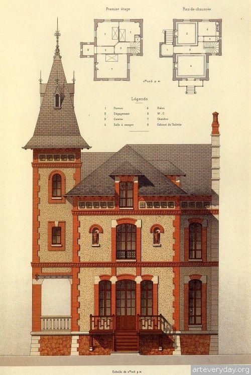 ♥♦♥ 3 | Victorian Brick and Terra-Cotta Architecture - Викторианская кирпичная и терракотовая архитектура | ARTeveryday.org ♥#1♥