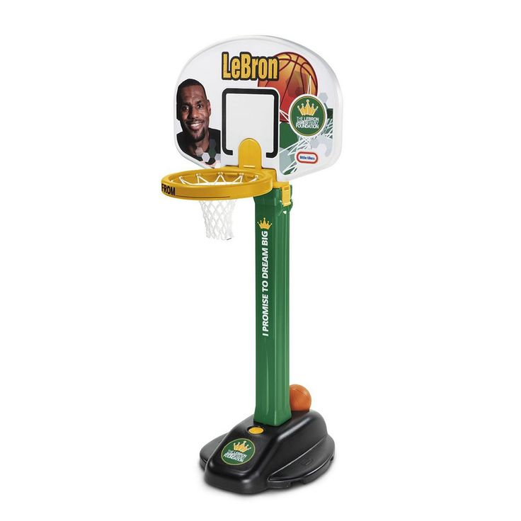 Little Tikes LeBron James Family Foundation Dream Big Basketball Set, Multicolor