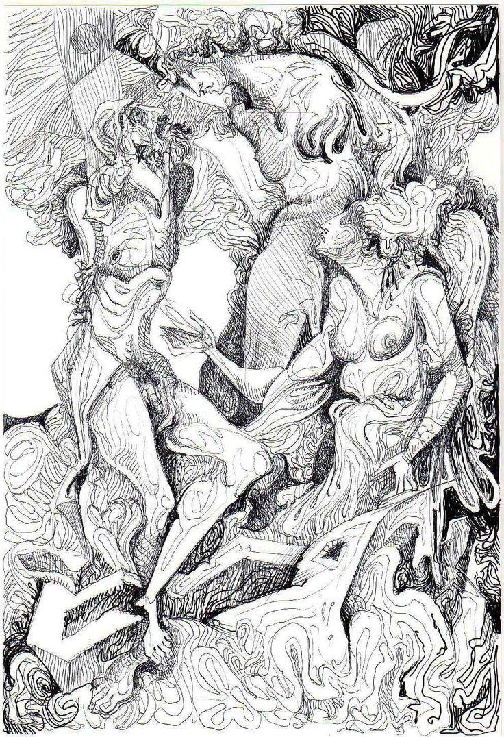 ODYSSEUS AND SIRENES, GICLEE PRINT, 1/9. 17X24 CM.