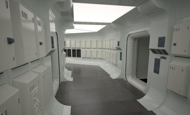Les 172 meilleures images du tableau spaceship interior for Interieur vaisseau star wars