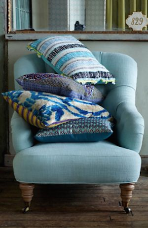 pretty linen overstuffed chair