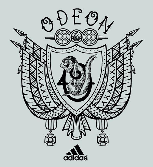 Adidas Battle Run Boost Tattoo Tatouage Running Sneakers Franck Pellegrino Course Paris Bastille République Bleunoirtattoo défi graffiti illustration blason