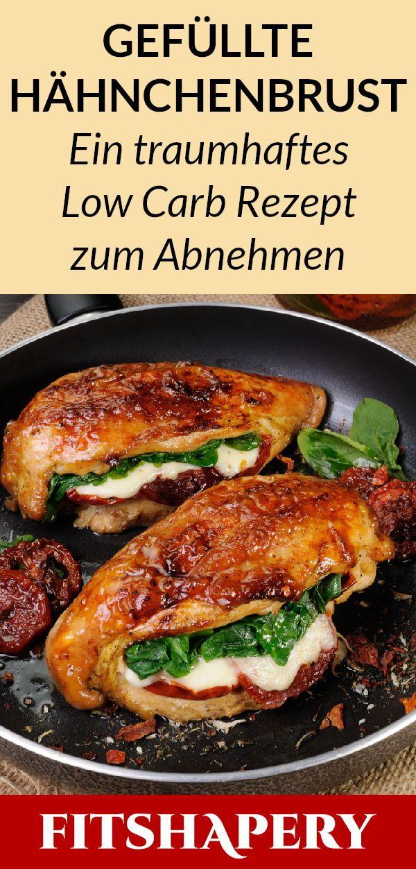 Dieses gefüllte Huhn ist eine der besten Formeln zur Gewichtsreduktion mit niedrigem Kohlenhydratgehalt. D …   – Kochen