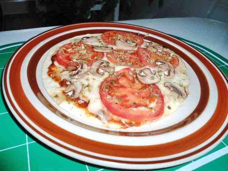 pizza con tortillas