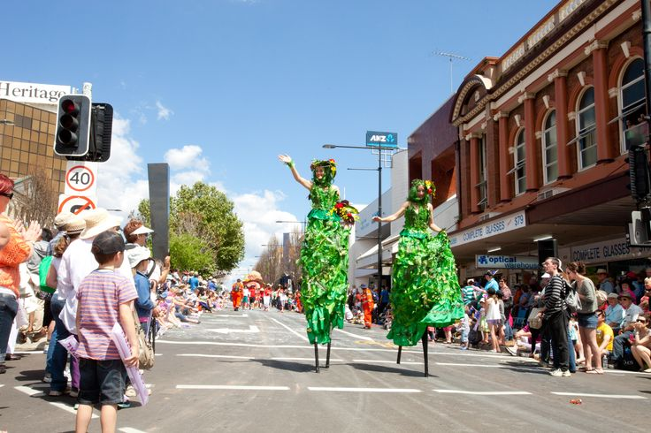 At the Grand Central Floral Parade 2012.