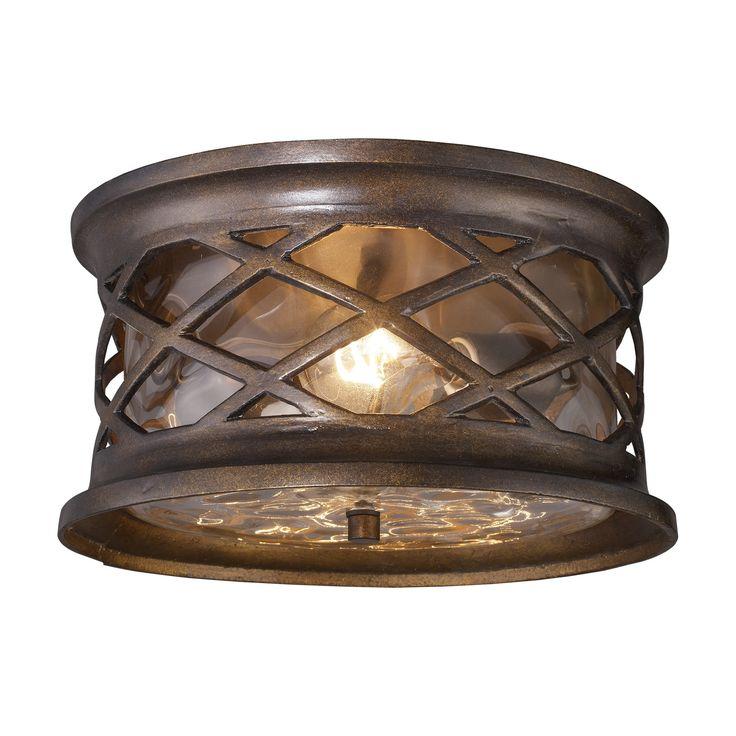 Elk lighting 420372 barrington gate outdoor ceiling light