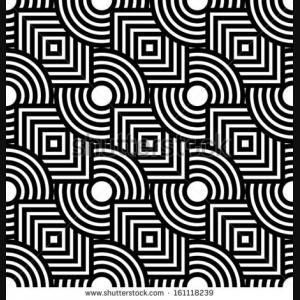 Abstract Background Vector Seamless Geometric White 3D Design ...