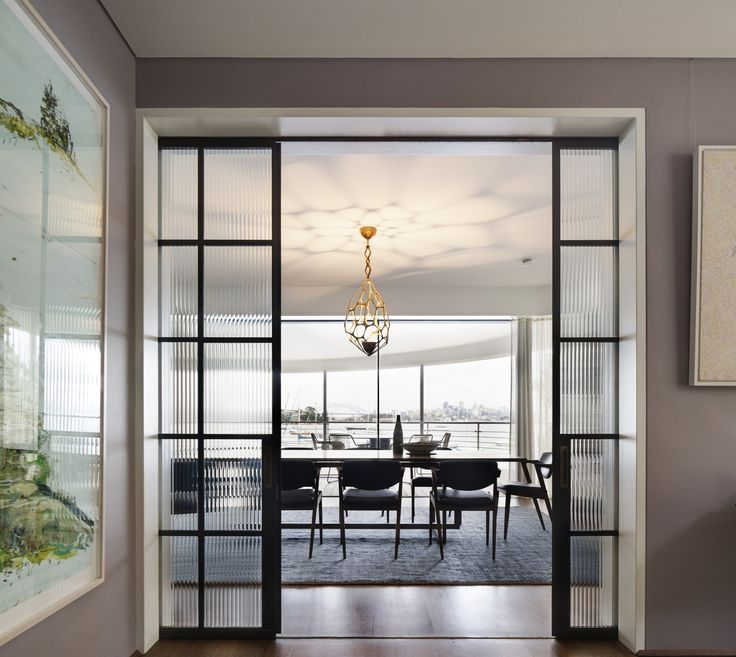 Decus selected the furniture and furnishings which would showcase the art and the view while maintaining intimacy in a large Point Piper home.