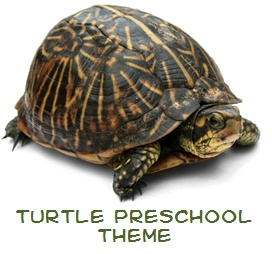 Turtle Theme for Preschool (great for World Turtle Day on May 23)