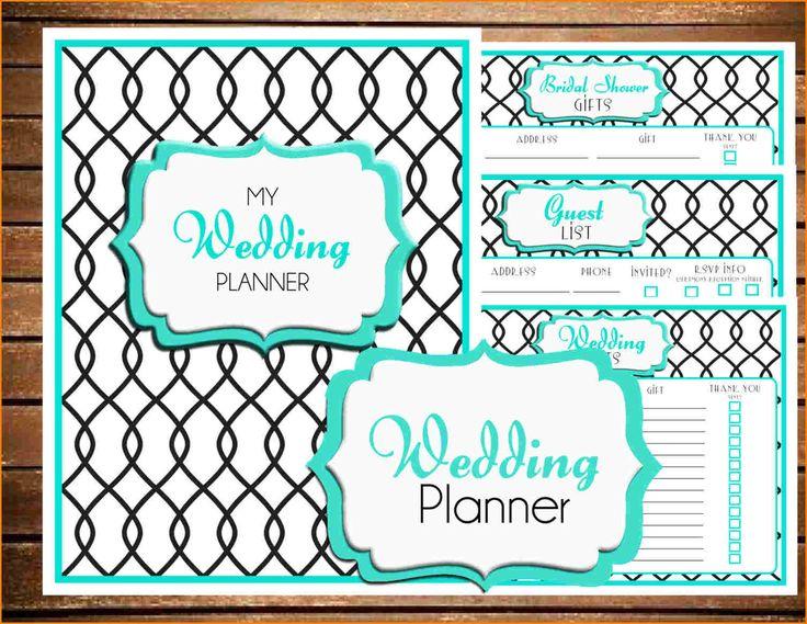 wedding spreadsheets