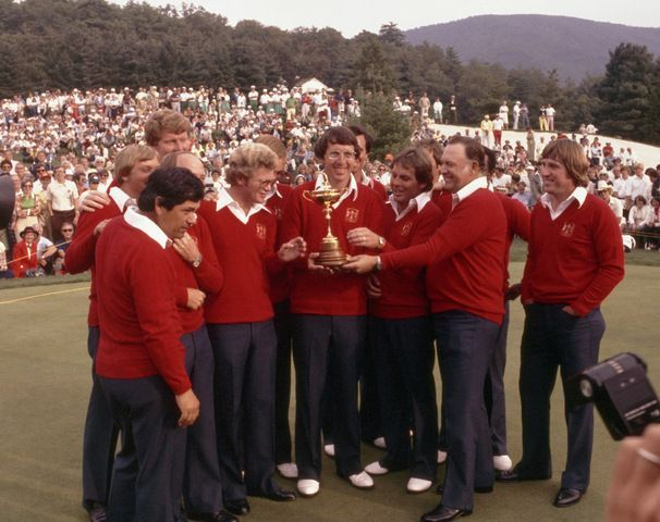 The 1979 Ryder Cup at The Greenbrier was a beginning of a new era, as additions made to the Great Britain and Ireland squad to include all of Europe meant that golfers such as Seve Ballesteros and Antonio Garrido could participate for the European team. Many hoped that this change would put an end to the near total domination by the U.S. that had existed since the Second Cold War, but the Americans still won by six points.