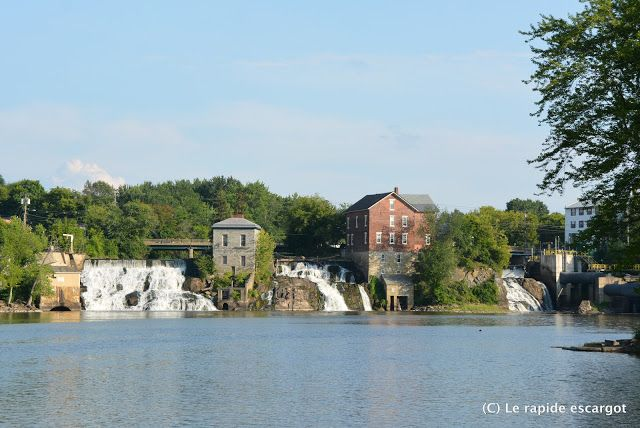 Vergennes Falls and Otter Creek | Le rapide escargot