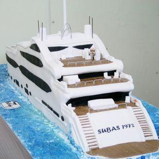 Super Yacht Cake