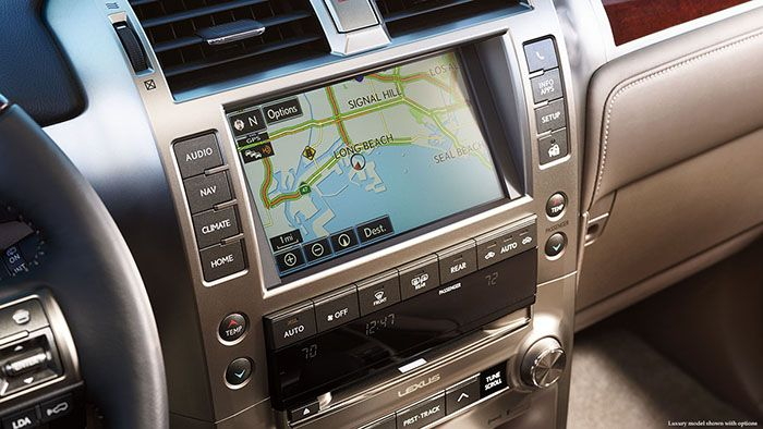 2018 Lexus GX460 navigation with touch screen display