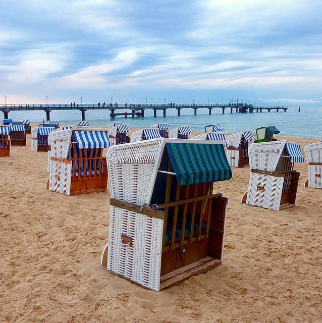 Beach Chairs, Göhren, Germany