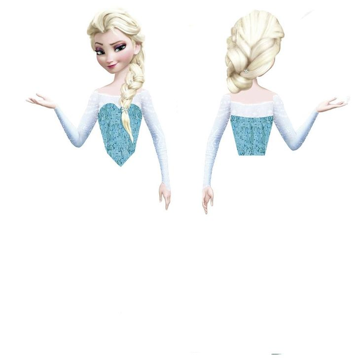 Elsa para Cupcakes