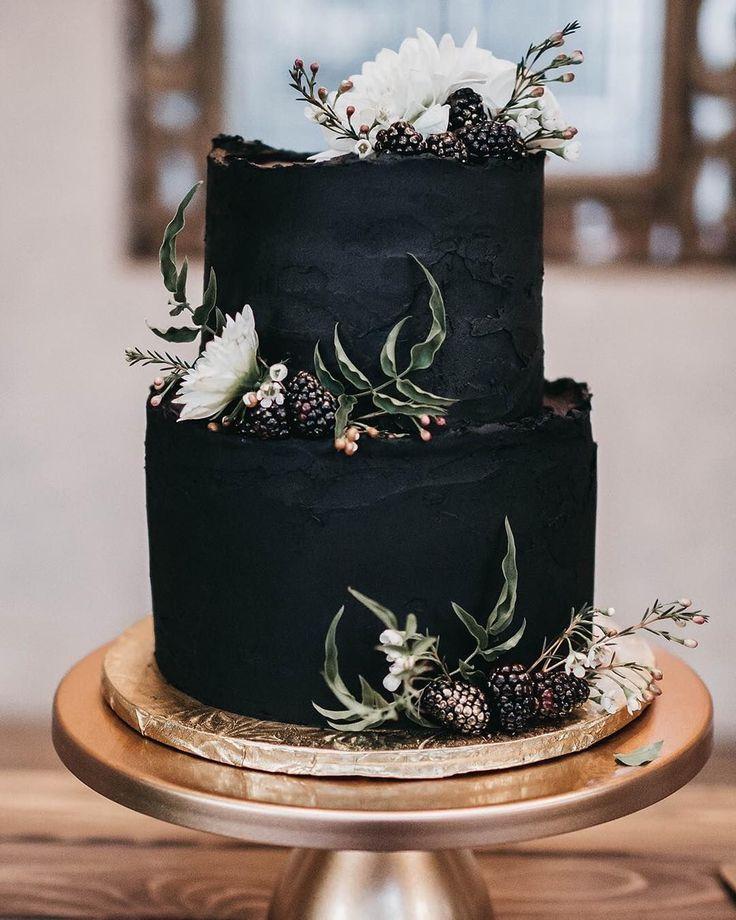 100 hübsche Hochzeitstorten, die Sie inspirieren – Fabmood | Hochzeitsfarben, Hochzeit …   – Wedding Cake