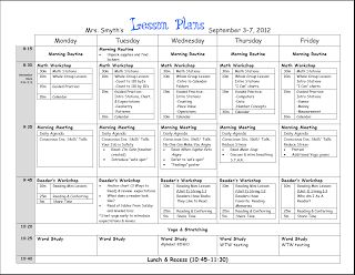 New adventures in first grade first week lesson plans for Fundations lesson plan template