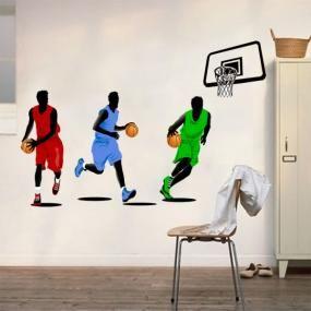 Adesivi murali giocatori di basket (JM7263)