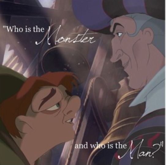 """""""Who is the monster and who is the man?"""" I adore this line from the song. It captures the essence of the whole film."""