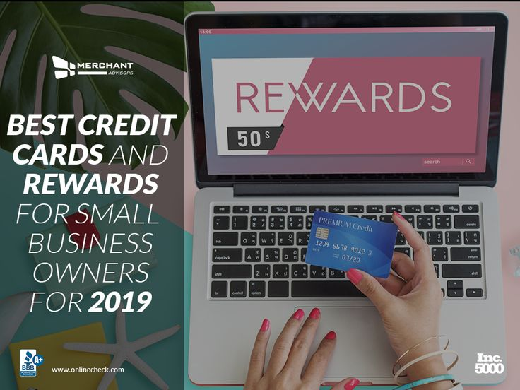 Best credit cards and rewards for small business owners