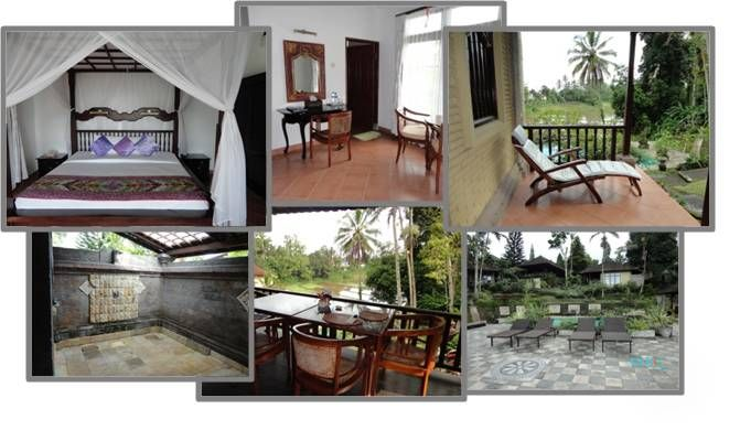 A true luxurious villa resort is this one, also in Tabanan in the mountains. Enjoy a cooler climate and relaxing views over rice fileds
