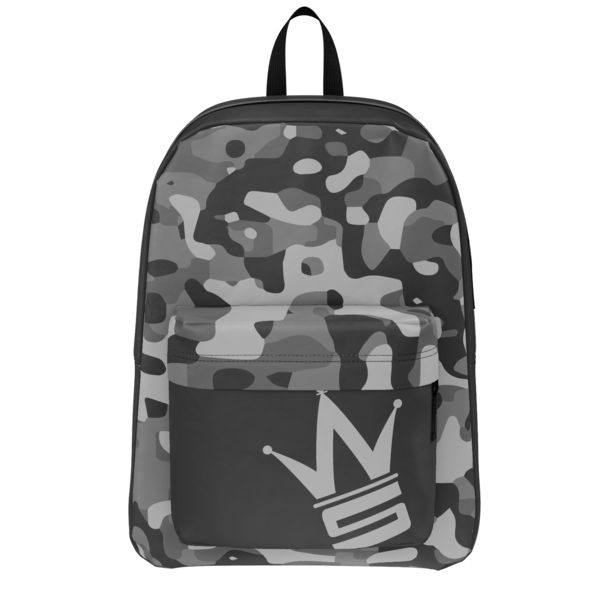 Gray Camo Backpack