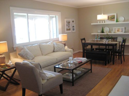 Small Living Room With Dining Table Ideas Modern Decoration Switch Up Your Seating By Adding A Padded Leather Bench To
