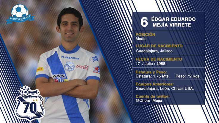 #6 Edgar Mejía