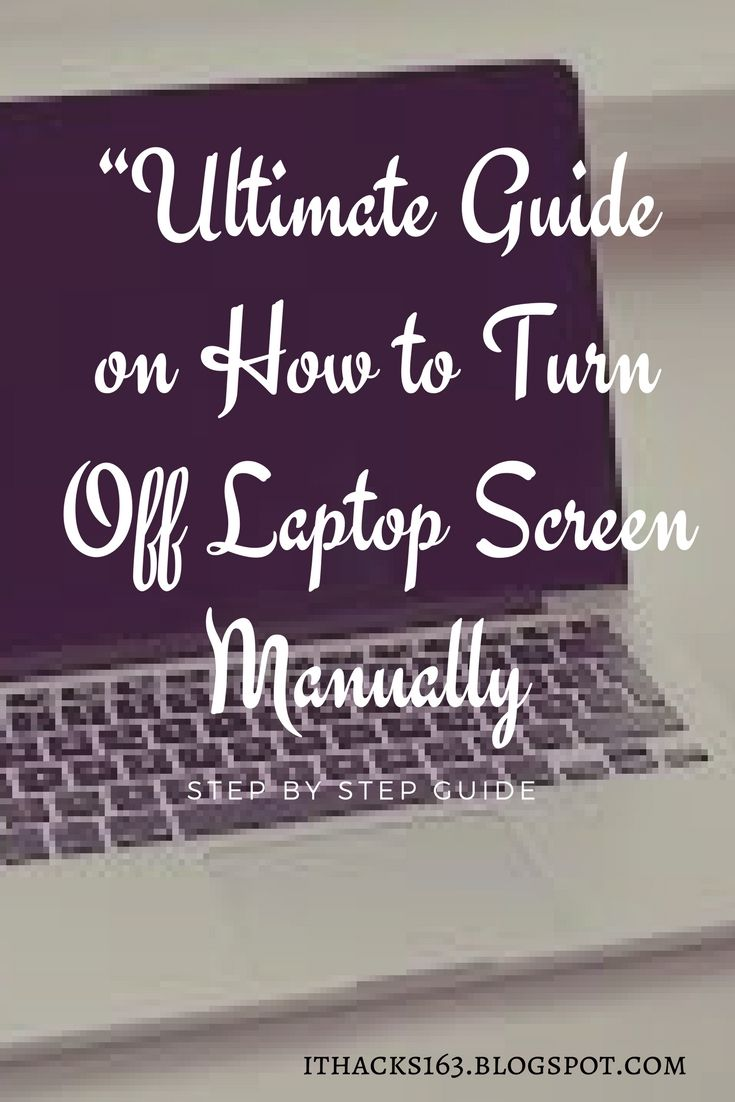 how to turn off laptop screen manually...How to shut pc/computer/laptop/windows/mac screen... how to fix...Best laptop hacks, tips & ideas... Step by step guide...How to use...for business...for beginners... repair setup #socialmedia #photos #pics#windows #computers #howto #screen #stepbystep #apps #mac #smartphones #hacks #software #tips #status #tool #ideas #guide #blog #blogging #posts #android #iphone #articles #repair #setup #time #fix #reset #monitor #follow