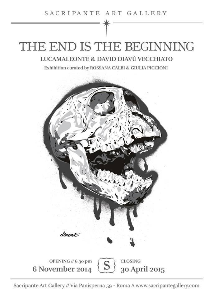 THE END IS THE BEGINNING show opens the 6 November 2014 in Rome! #art #gallery #rome #exhibition #lowbrow