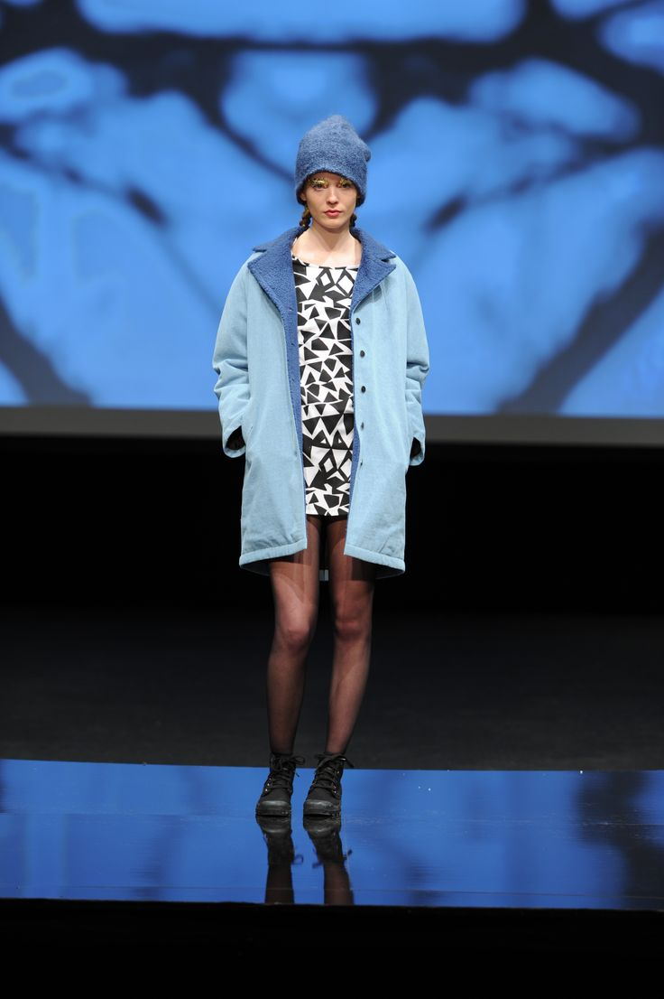 R/H the Label AW12 Runway at the Copenhagen Fashion Week in Denmark.
